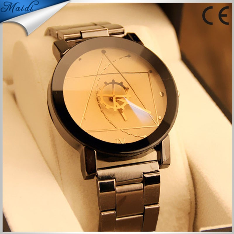 clock men golden quartz watches watch luxury casual gold man brand relogio drop top curren wrist masculino