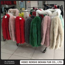 Whole Pelt Large Size Fox Fur Skins Wholesale Price Dyed Color Fur Skin Plate