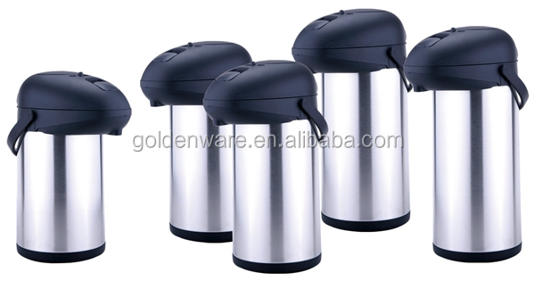 Golden Ware Practical High-Ranking 2.5l double wall stainless steel vacuum thermos flask