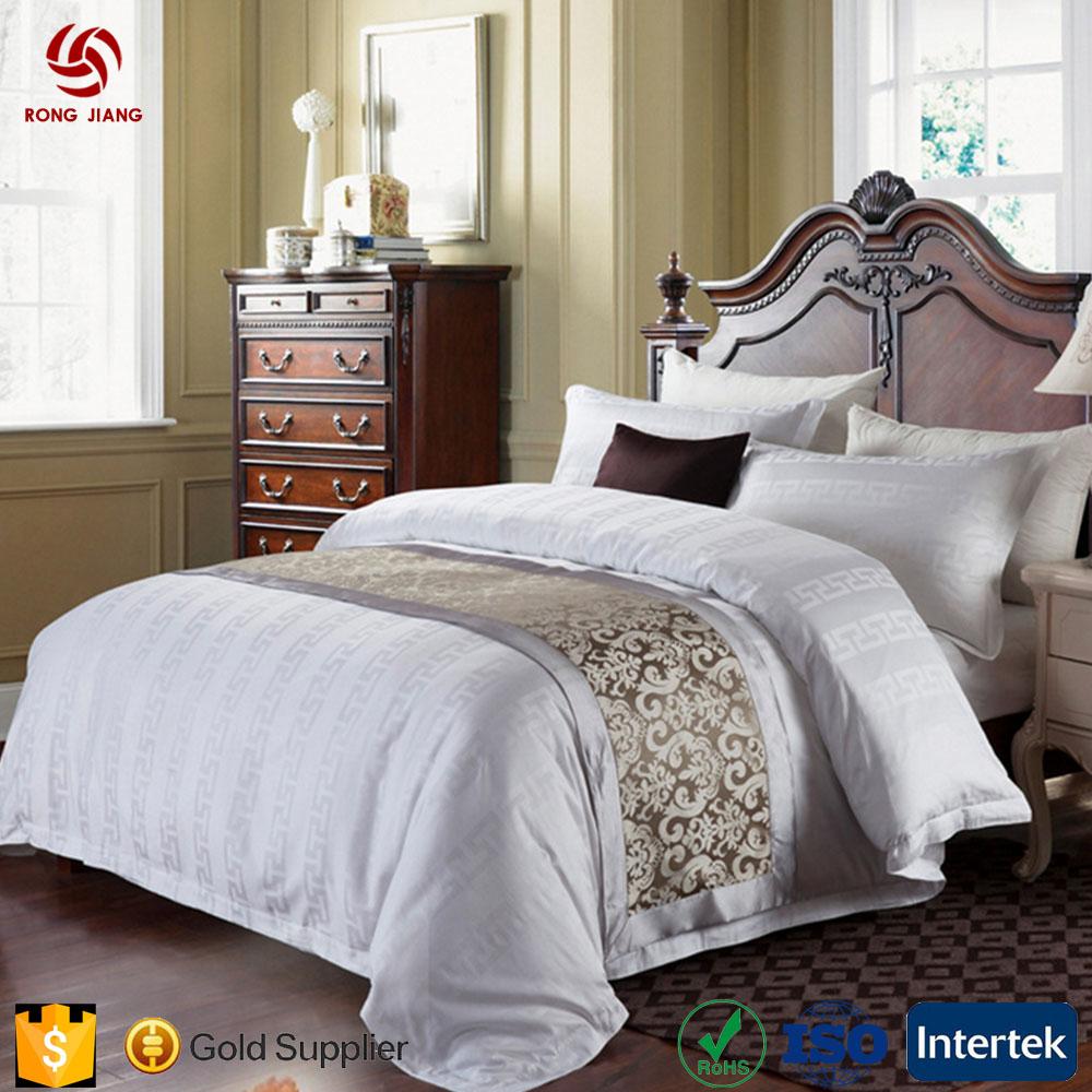 Custom 4pcs Cotton Queen Size Bed Duvet /Quilt Cover Sets Sheet/Cotton  Hotel Bed