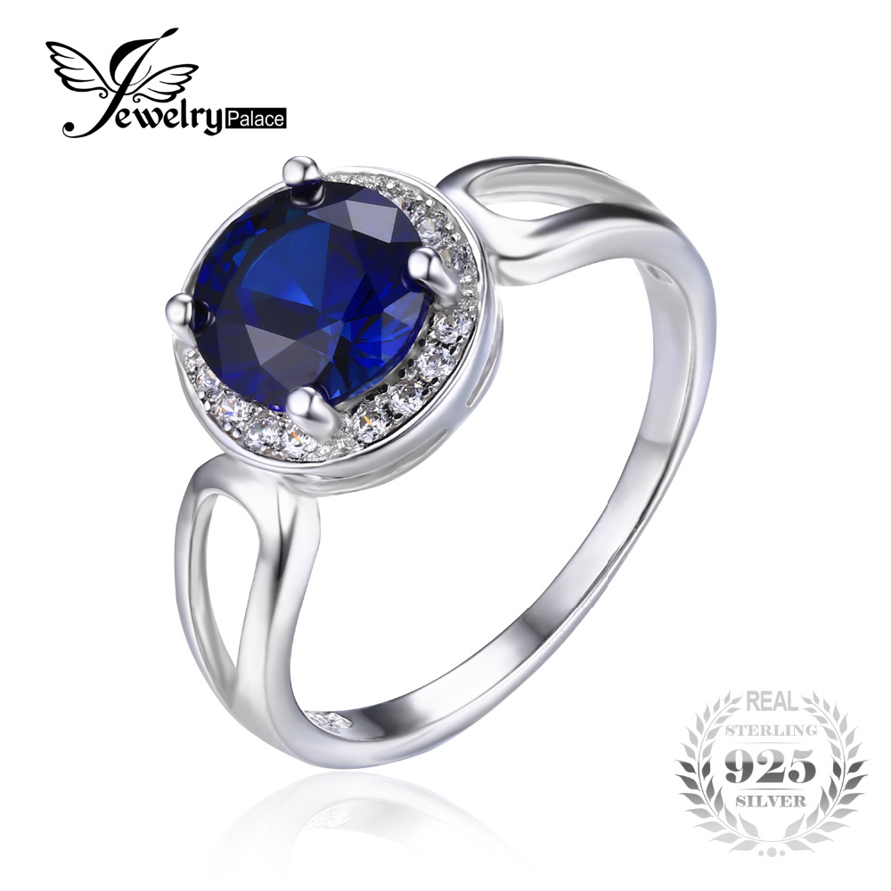 Online Get Cheap Blue Sapphire Engagement Rings