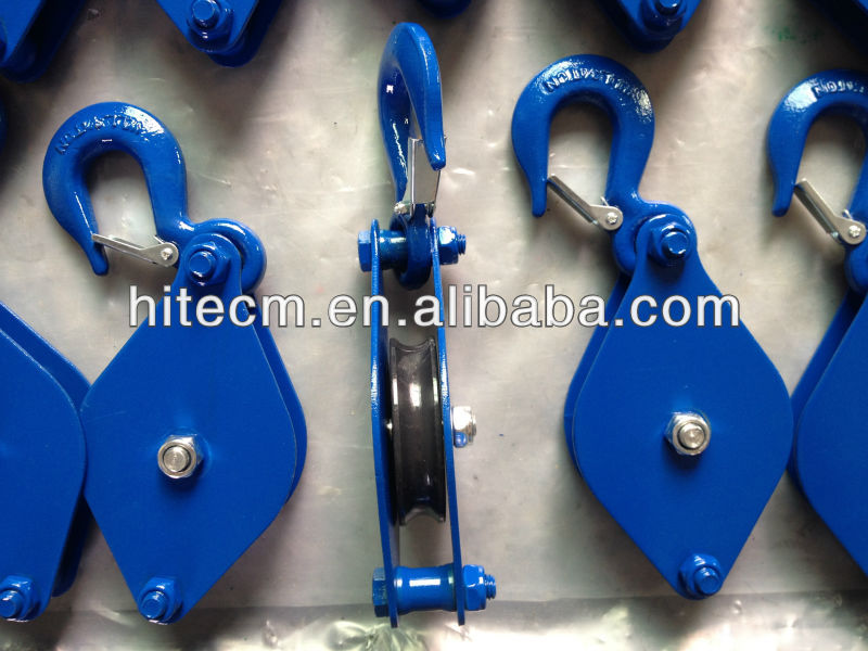"3"" Poly Block With Hook & Shackle"