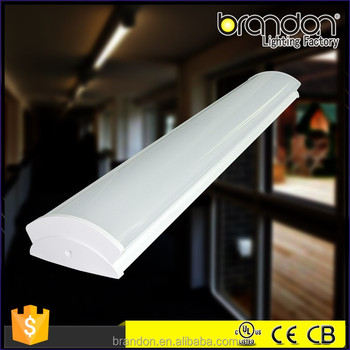 2/4/5ft Office Ceiling Wraparound Led Surface Mount Linear Ceiling Light  Fixtures - Buy Led Surface Mount Linear Ceiling Light Fixtures,Led Ceiling