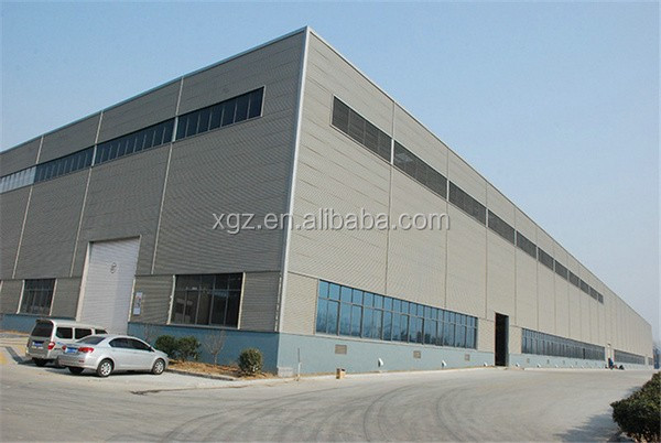 metal cladding rigid multi-storey industrial building