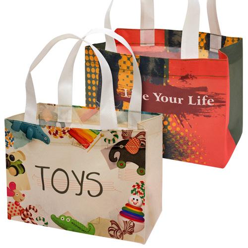 Customized Printing Laminated pp Woven Bag Recyclable Eco Friendly Shopping Bag