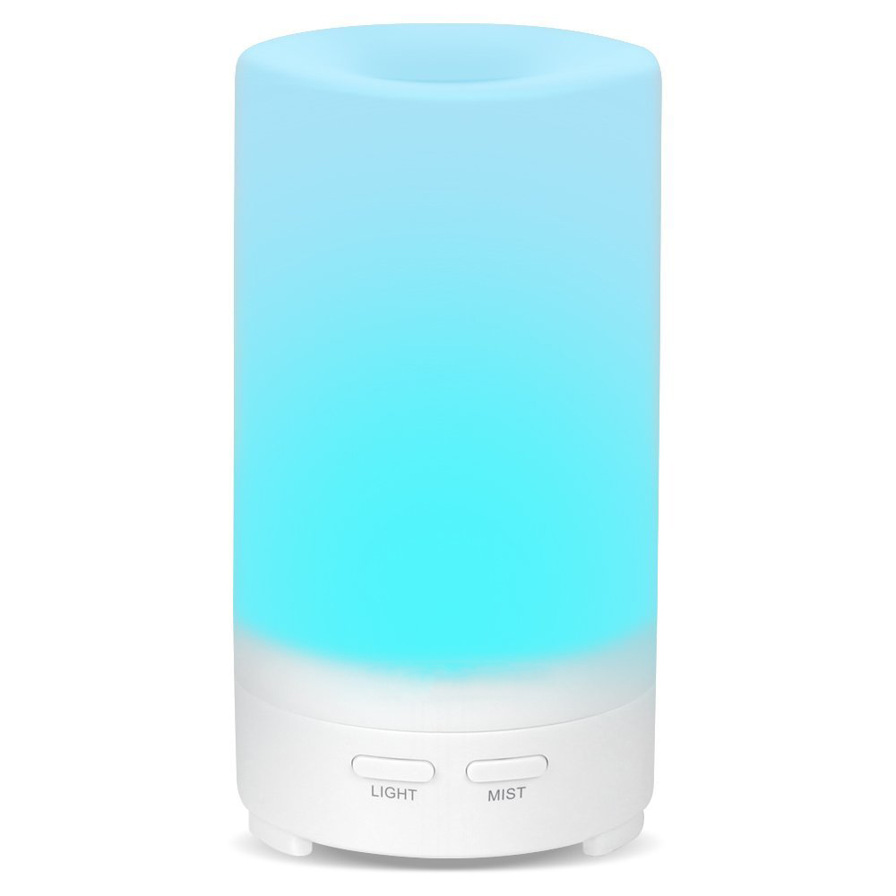 70ml USB Aromatherapy Essential Oil Diffuser <strong>Portable</strong> Aroma <strong>Humidifier</strong> with 7 LED lights for Office Car