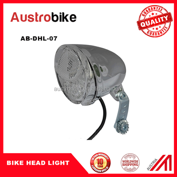hoge kwaliteit waterdichte fiets dynamo fiets licht multifunctionele
