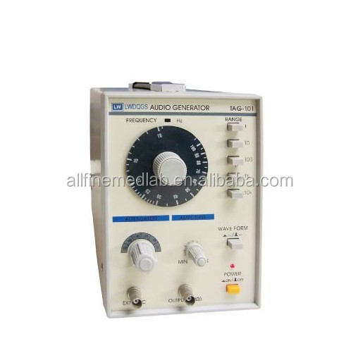 10Hz-1MHz Low Frequency Function Signal Audio Generator Producer TAG-101