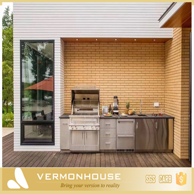 Vermonhouse Latest New Zealand Outdoor Kitchen Design View Outdoor Kitchen Vermont Product Details From Hangzhou Vermont Deluxe Materials Co Ltd On Alibaba Com