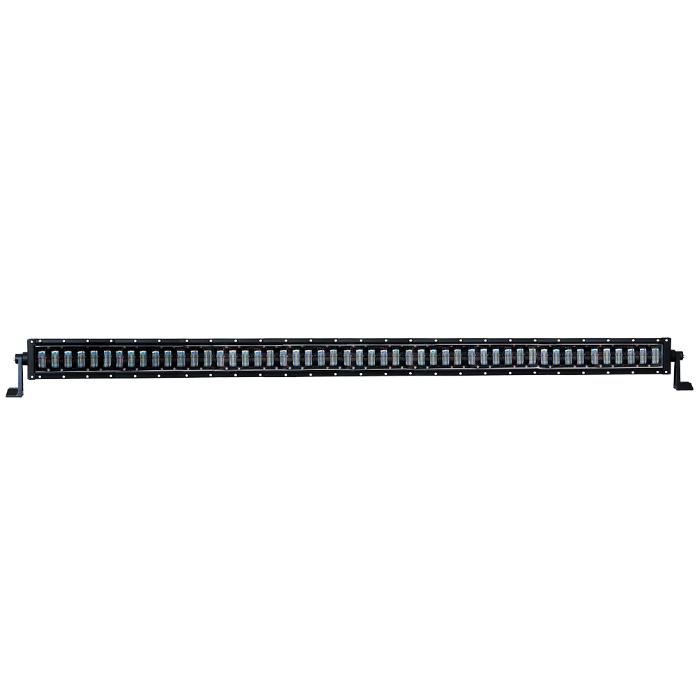 Nueva llegada super brillante 4x4 50 pulgadas led light bar 400 W alta potencia 32000LM camión verde led luces