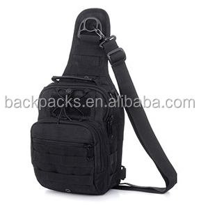 product detail camping equipment outdoor sport nylon wading chest pack cross body sling single shoulder bag men unisex