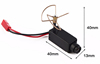 5.8Ghz 32ch wireless mini night vision fpv camera hd for DJI RC-plane drone (switch 32ch, 25mW, 120 deg )