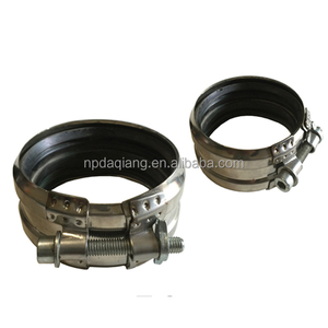 4 inch SS304 B type pipe clamp with holder