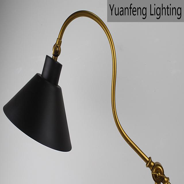 Oscillant Bureau Table De En Led Lampe Réglable Hautement D Bras NwvOn0m8