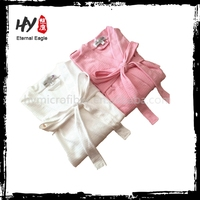 Multifunctional 100% cotton terry cloth bath robe made in China