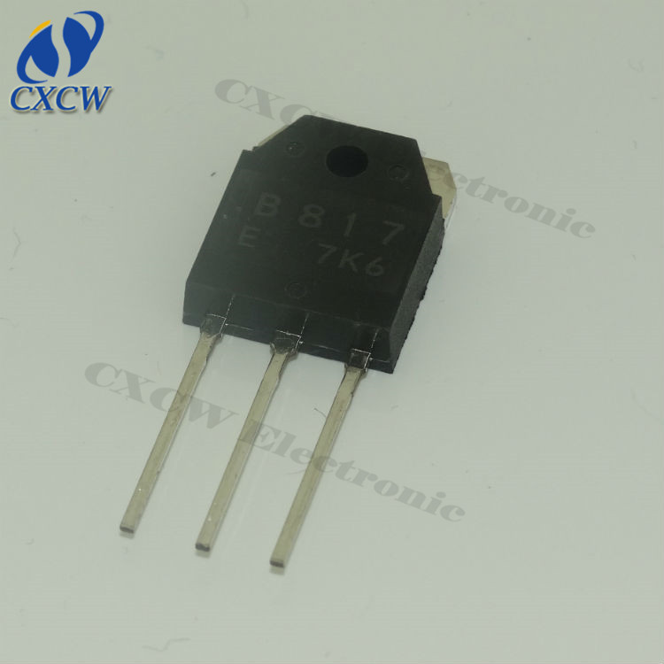 pnp transistor 2SB817 14V 12A 100W TO247 amplifier transistor shenzhen supplier
