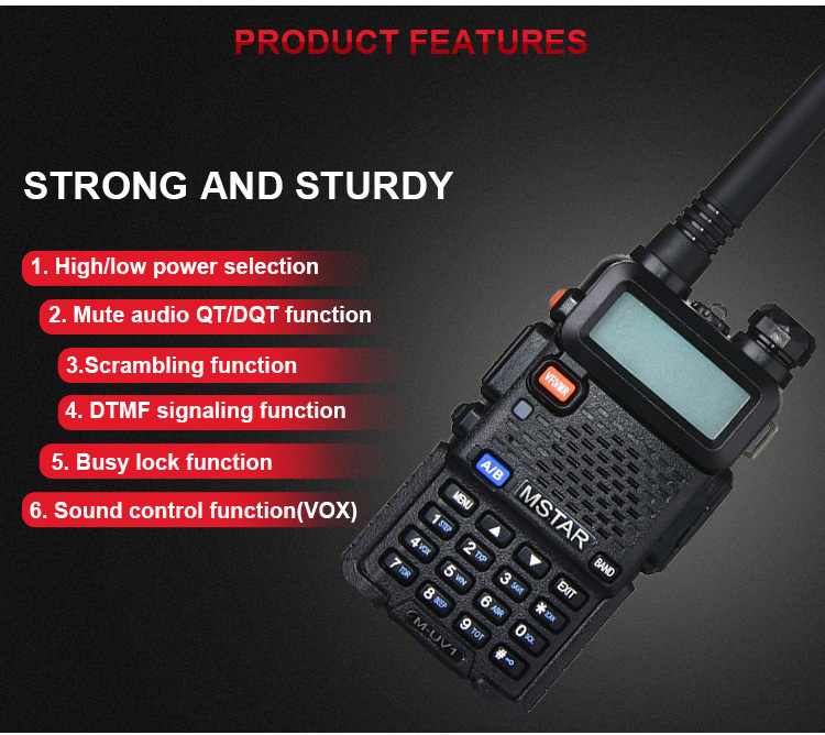 128 Channels DMR Dual band digital walkie talkie two way radio and Repeater Compatible