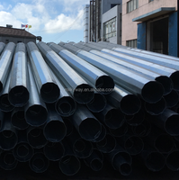 octagonal hot dip galvanized steel pole price factory