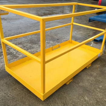 2.0m x 1.0m Forklift Man-Lift Agri. Safety Basket