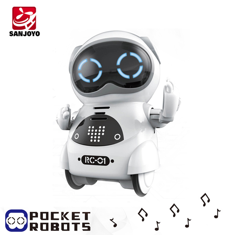 PK Xiaomi Mitu mini robot gift kids toy voice interactive control robot with flexible joints SJY-939A