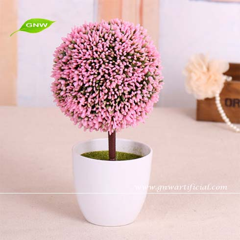 Gnw gp024 artificial potted plants tropical flower plant grass ball indoor decorative buy - Indoor colorful plants ...