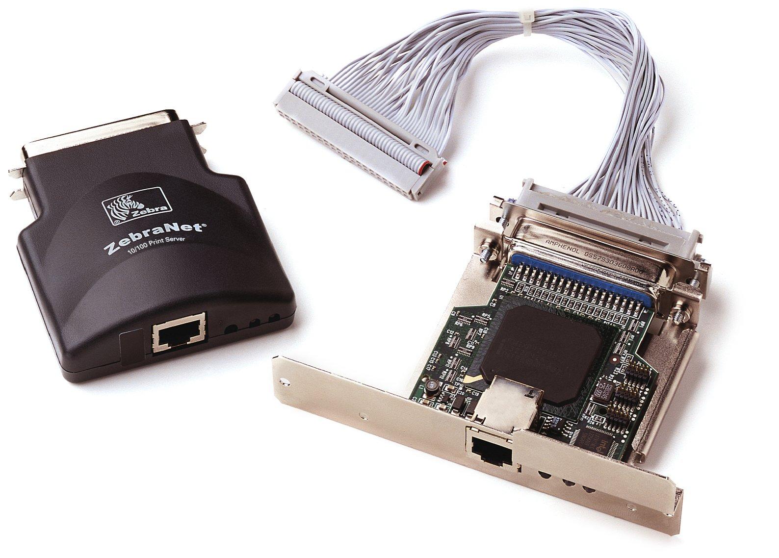 Zebra Technologies P1031031 Zebranet 10/100 External Print Server for Z4M+ Z6M+ 105SL S600 ROHS