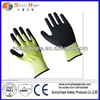 13G latex sandy coated natural latex rubber work gloves