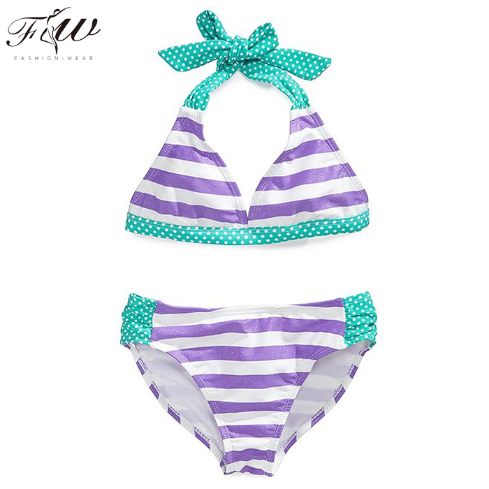 Wholesale discount price athletic cute girl swimming suits size 14 kids competition swimsuits