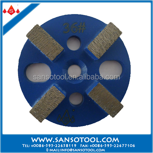 Sanso A Grade Grinding Tools D100mm Metal Bond Grinding Disk for Concrete Floor and Terrazzo