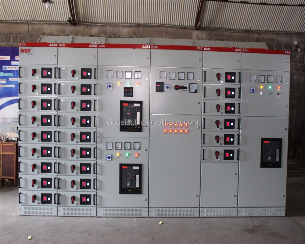 Low voltage electrical control panel board/switchgear and control panel