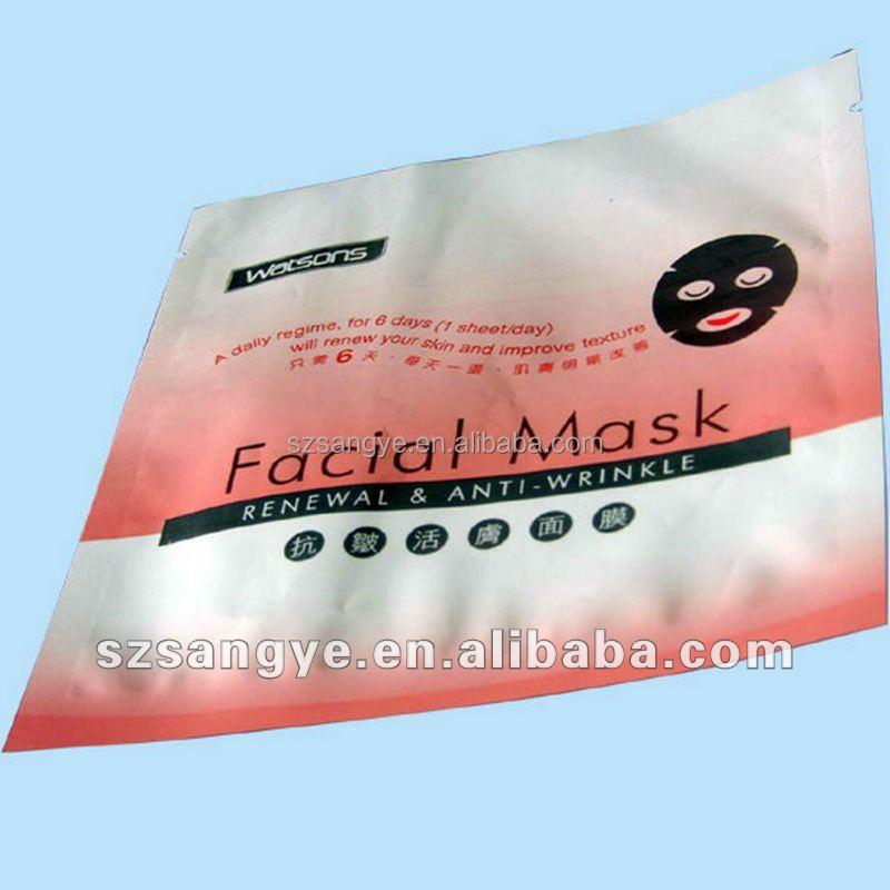 Facial Mask Pack Bag/shaving Cream Packaging/facial Mask Bags ...