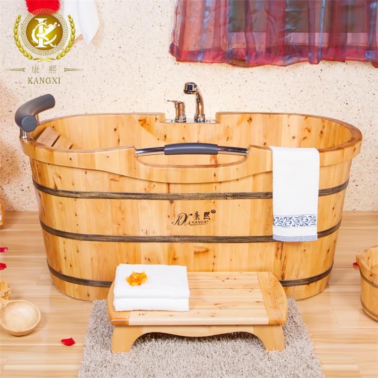 Vasca da bagno in legno bagno secchio di legno legno - Vasca da bagno in legno prezzi ...
