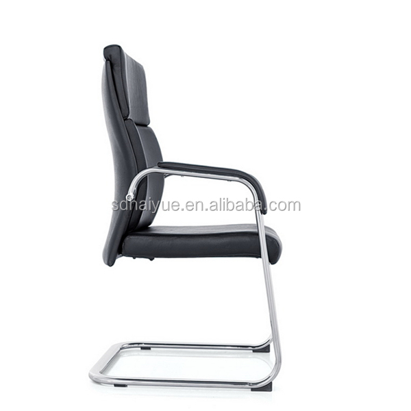 PU Leather Backrest Office Chairs Ergonomic Metal Structure HY1308