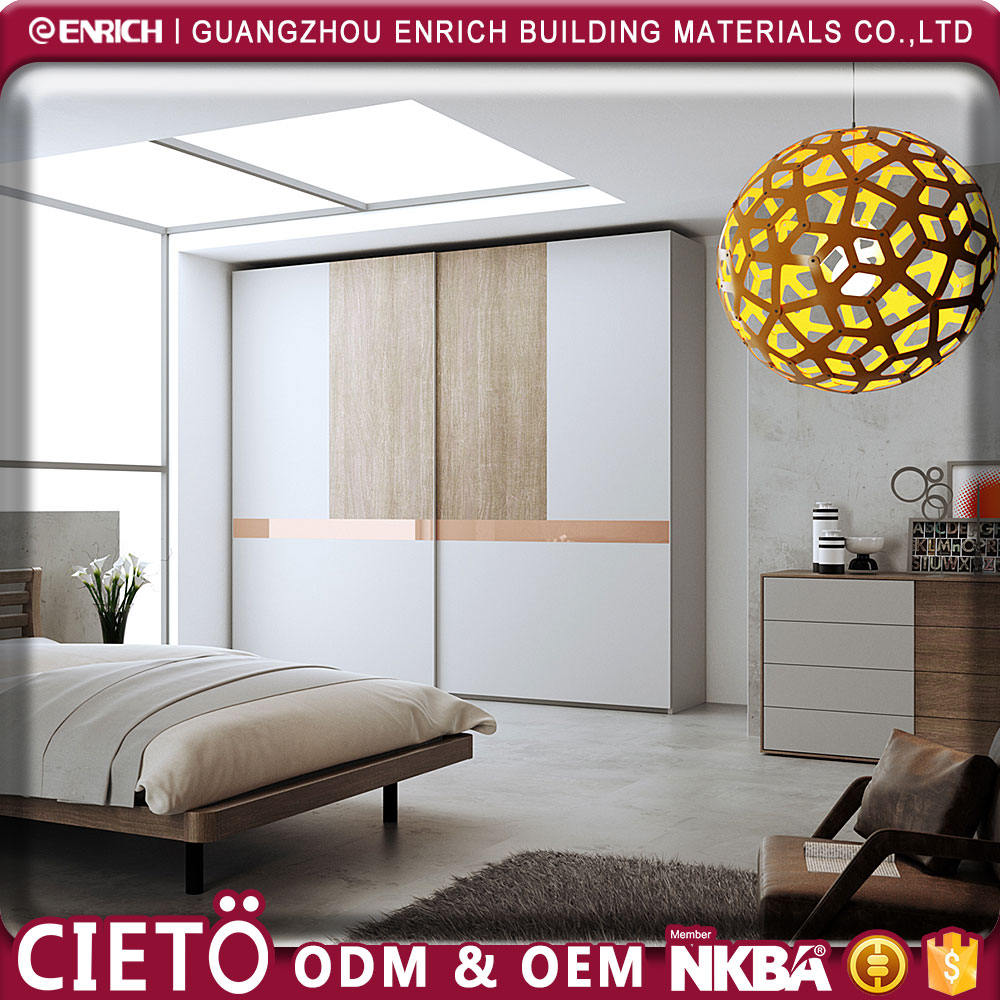 custom modern wall mounted Wardrobe Laminate Designs For Bedroom furniture, Plywood 3 Door Bedroom Wardrobes Designs