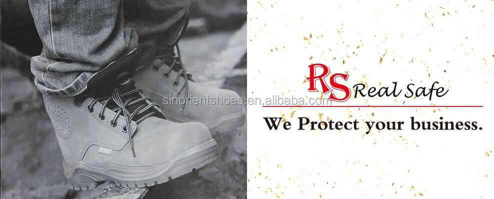 Cheap famous brand Diabetic safety shoes men In stock, Steel toe Anti static safety shoes manager SNB1065