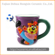 Giraffe hand-painted ceramic blank ceramic coffee mugs