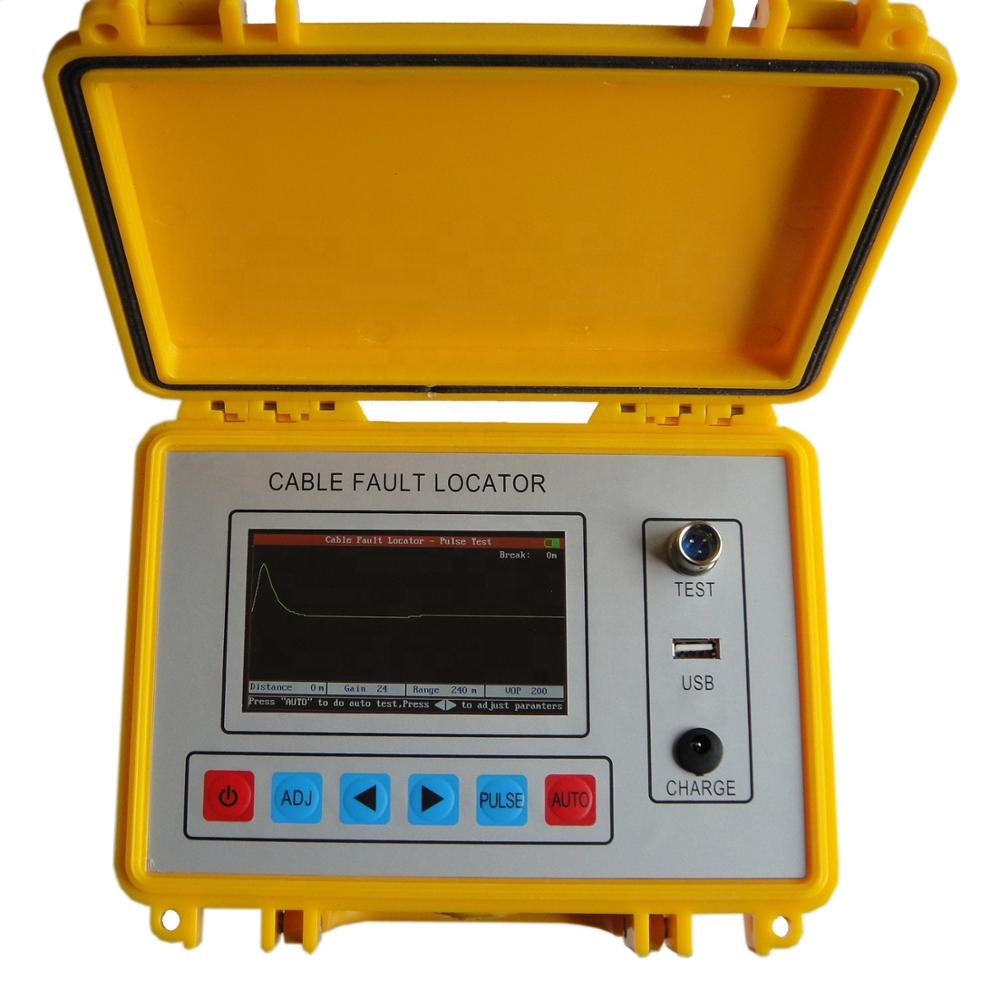 China Hot Sale High Precision Cable Fault Locator HIgh-effective Tool For Electric Line Maintenance