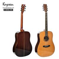 China made brand Kaysen acoustic guitar factory direct wholesale accept oem order