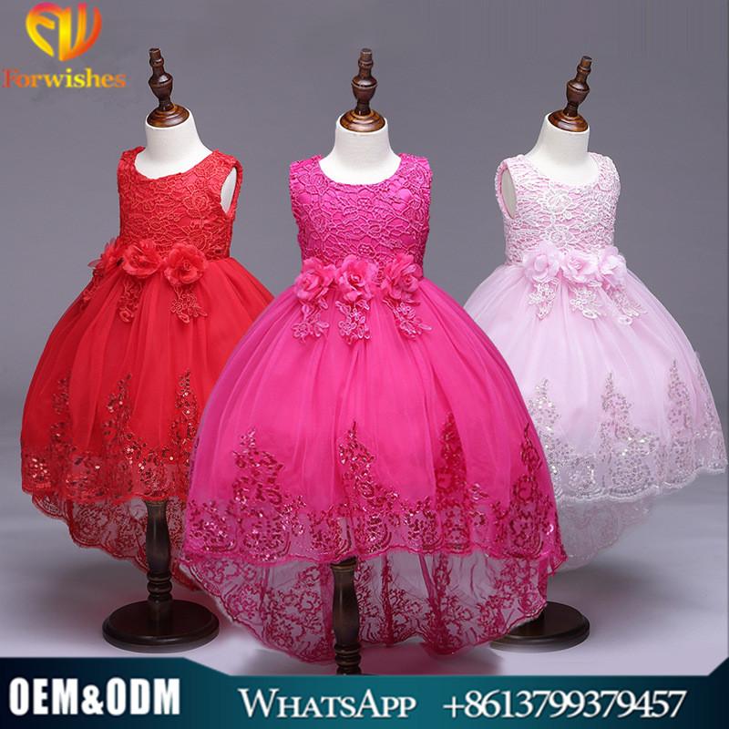 Venta al por mayor vestidos fiesta niña 4 años-Compre online los ...