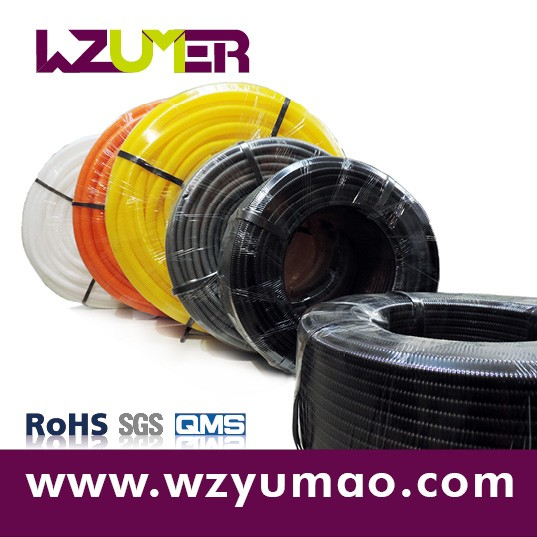 WZUMER Professional PA Material Insulation Flexible Corrugated Hose for Automotive