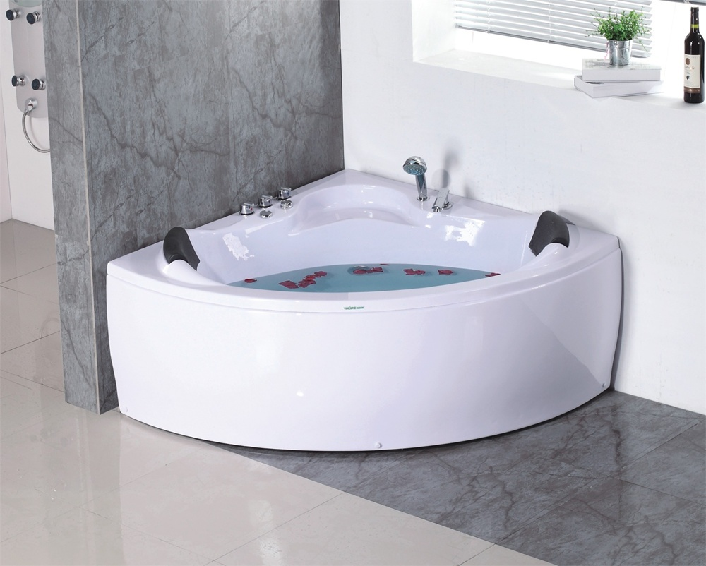 Luxury 2 Person Triangle Acrylic Bathtub - Buy 2 Person Triangle ...