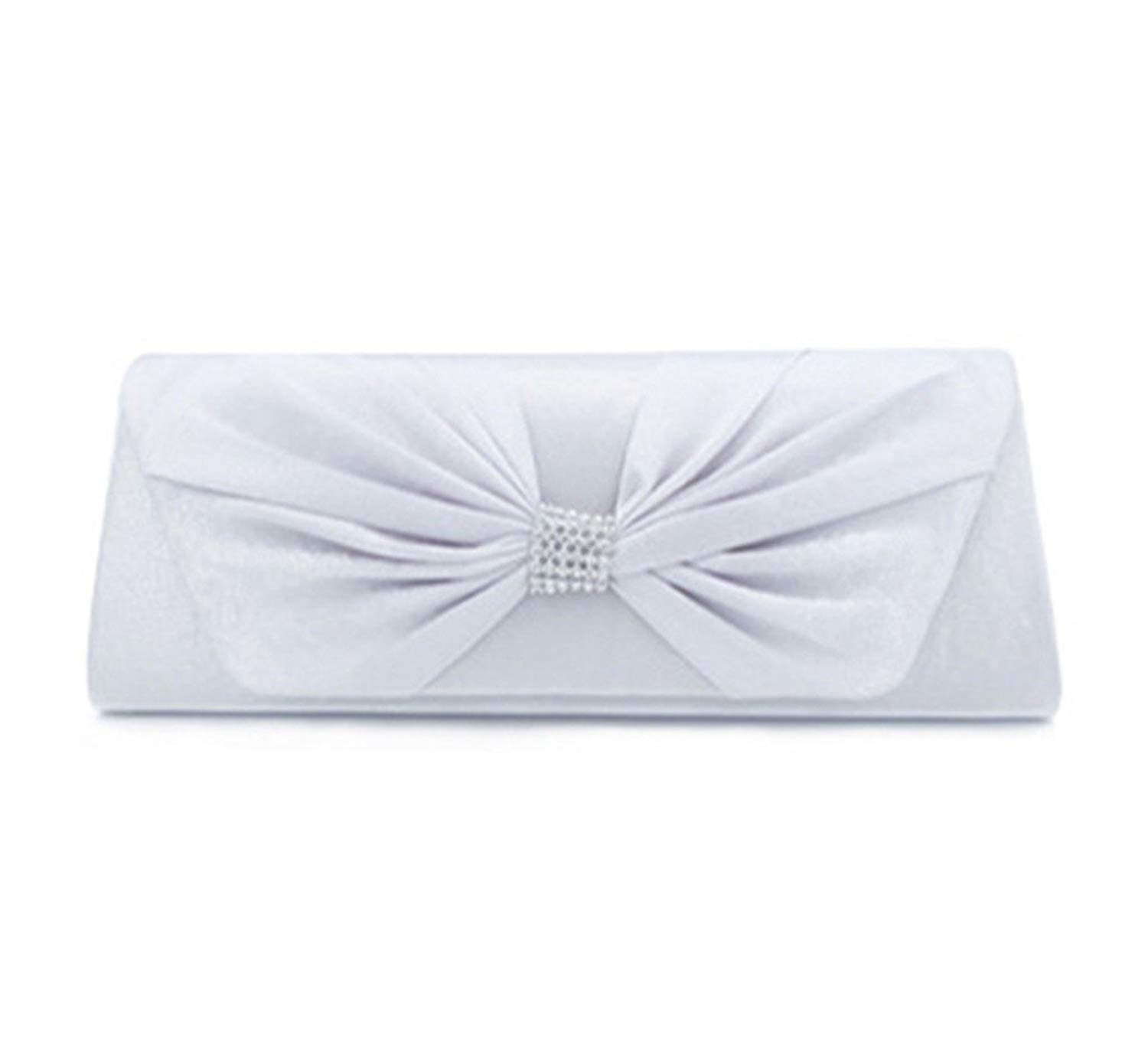 Envelope Evening Bag AfterSo Party Purse Coin Cellphone Bag Womens Girls Gifts Silver