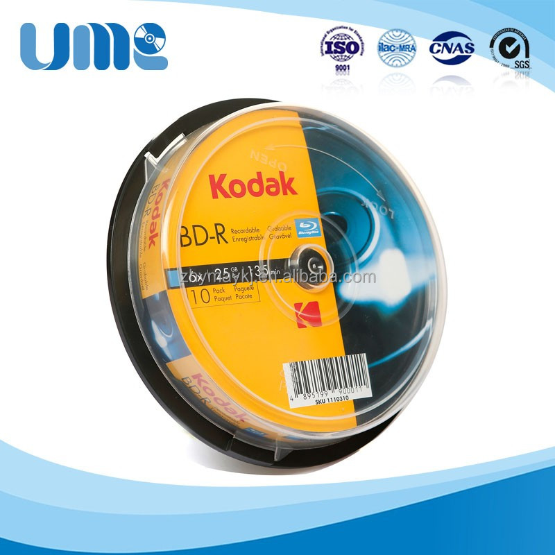 Pressing kodak bd r 50gb for slim case Products to Export to Brazil