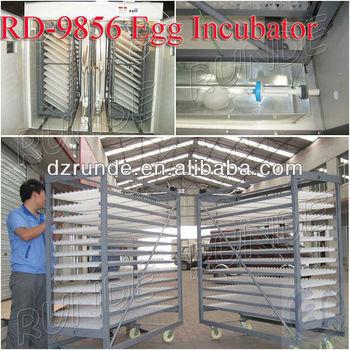 9800 Chicks Hatchery Equipment For Chicken Eggs Incubator ...