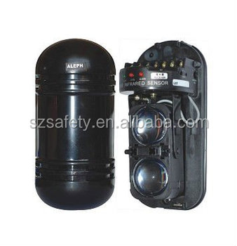 Outdoor Active Two Beams Infrared Laser Beam Barrier Detector ...