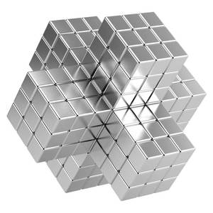 High performance 52SH Block/cube Neodymium Magnets for sale