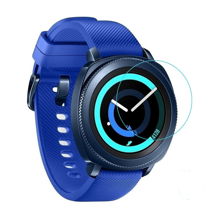 9H Watch Tempered Glass Screen Protector For Samsung Gear Sport Smart Watch Screen Protector Anti Scratch