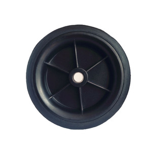 Professional supply 4 inch lawn mower rubber wheels
