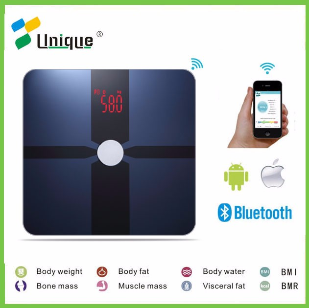 Cheap Fashionable Electronic Platform Bluetooth 180kg Weight Personal Wireless Digital Chinese Body Fat Analysis Weighing Scale