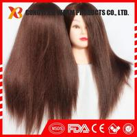 2017 new products China syntheric hair hairdressing salon practice wholesale mannequin head